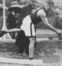 Jim Thorpe at the Olympics of 1912.